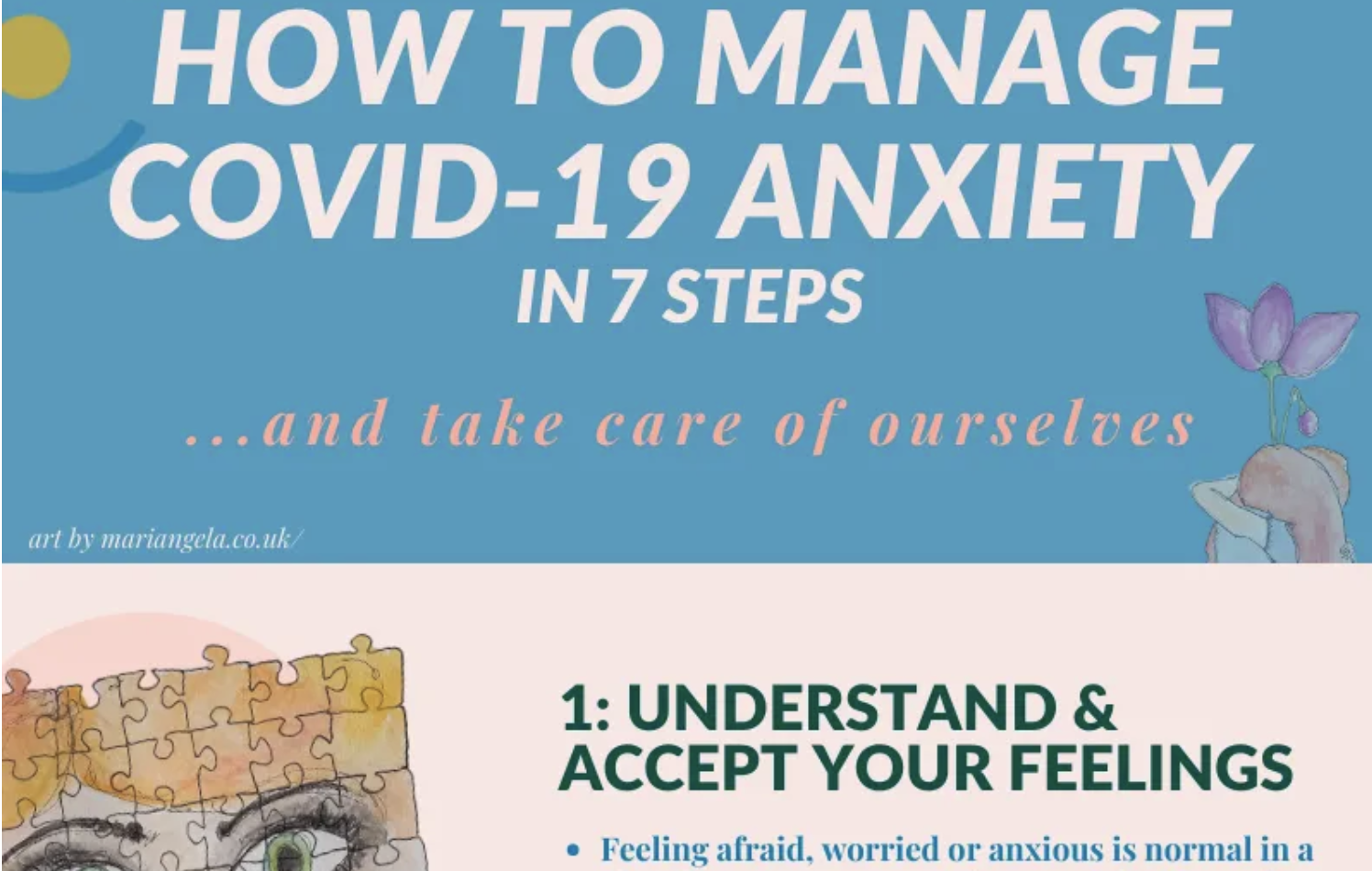 How to Manage Covid-19 Anxiety in 7 steps