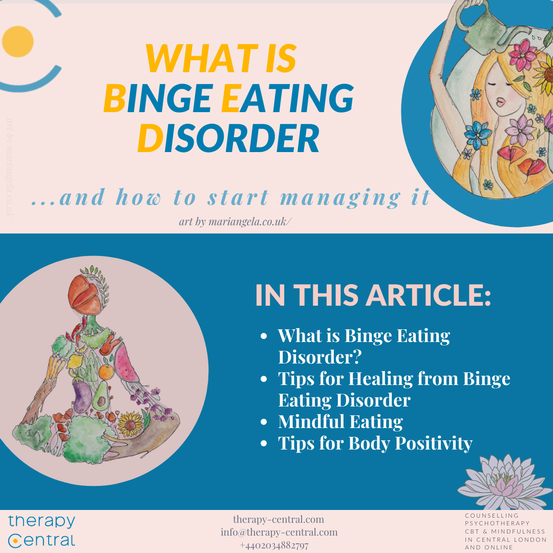 What is Binge Eating Disorder (and how to start managing it!)