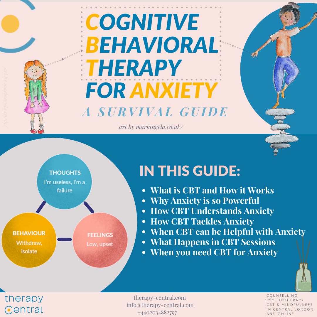 CBT for Anxiety: Survival Guide
