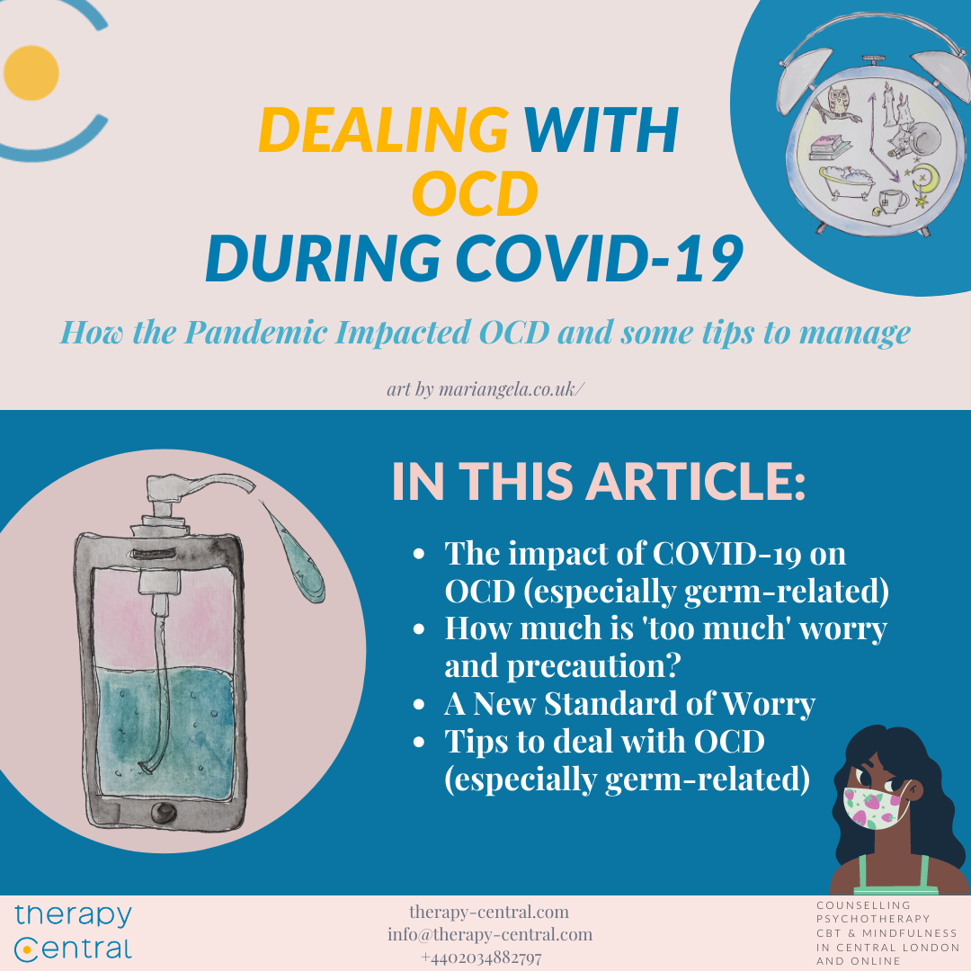 Dealing with OCD during COVID-19