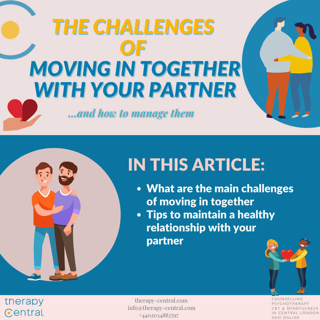 The challenges of Moving in Together with your partner