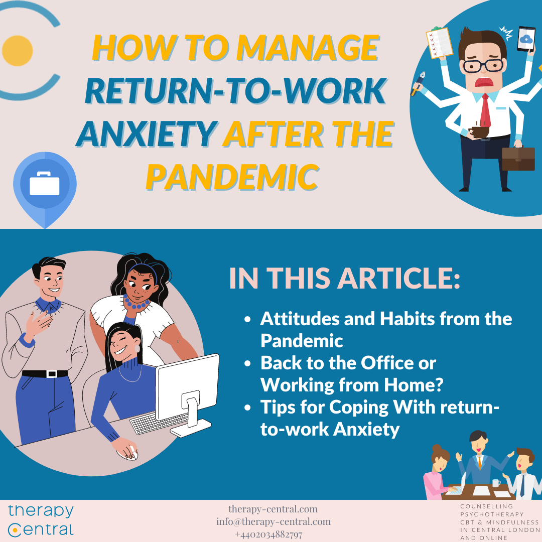 How to Manage Return-to-Work Anxiety after the Pandemic