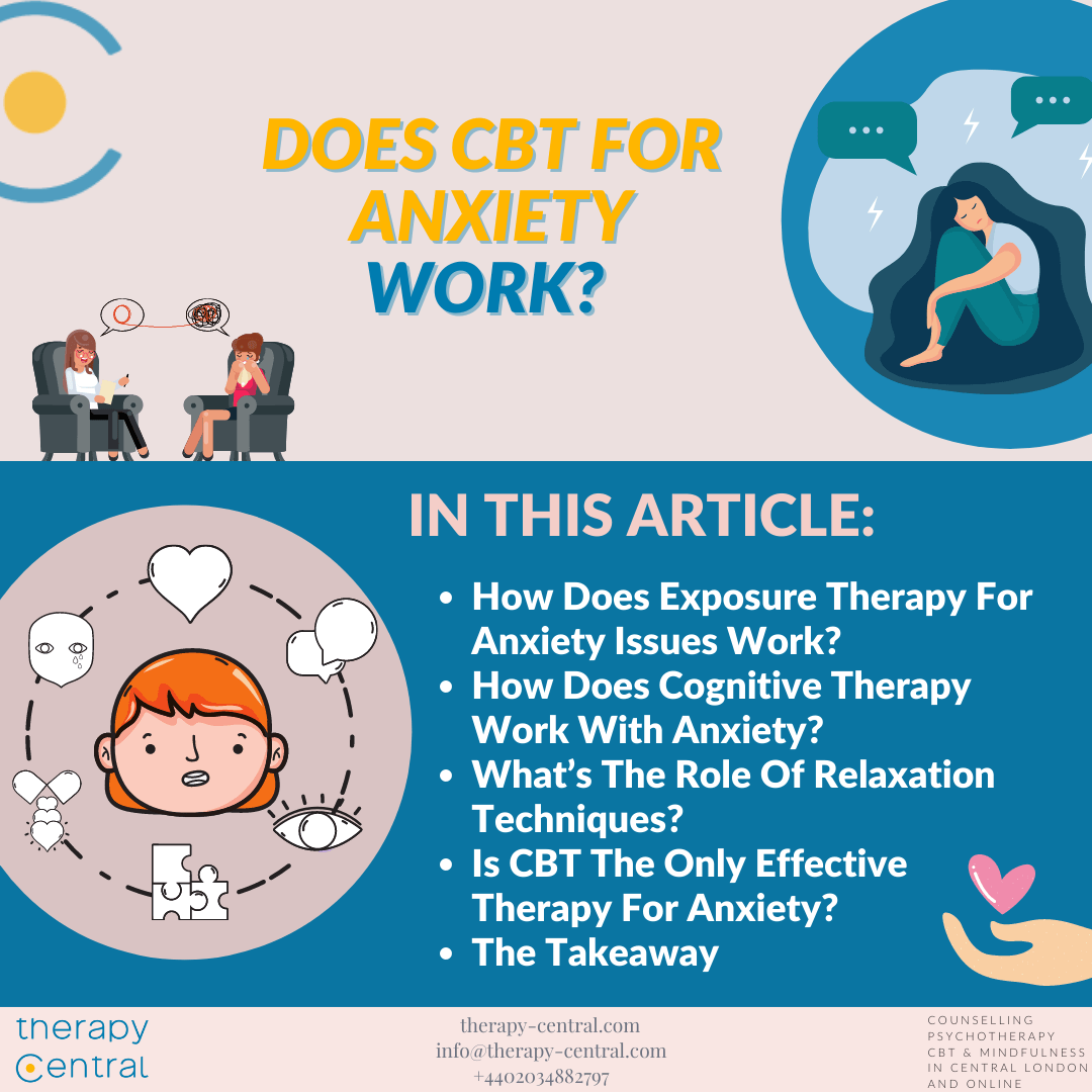Does CBT For Anxiety Work?