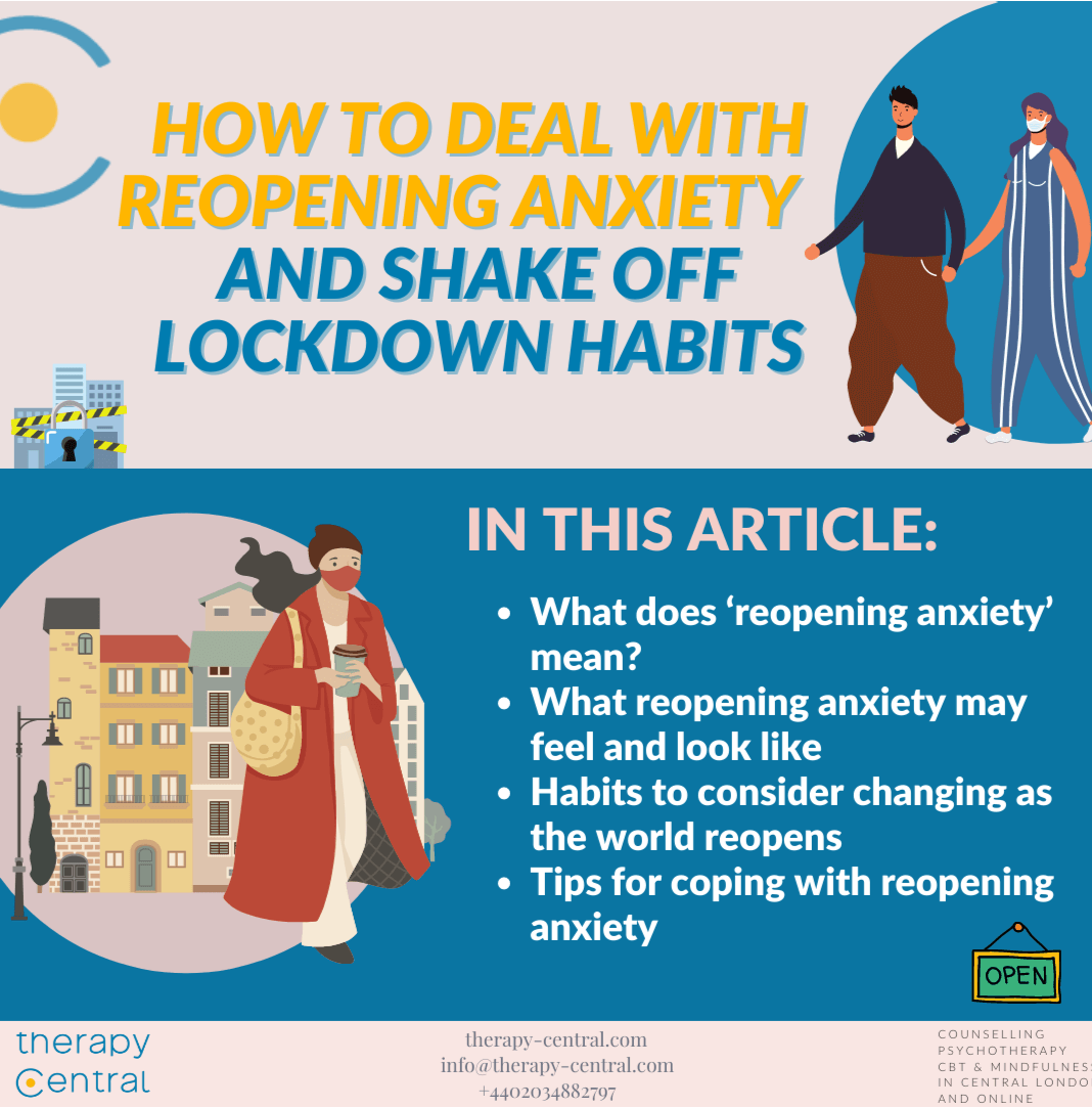 How to Deal with Reopening Anxiety and Shake off Lockdown Habits