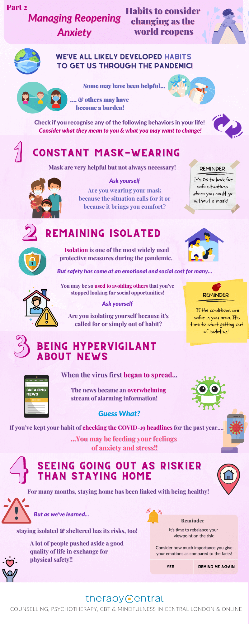 Infographic - How to Deal with Reopening Anxiety and Shake off Lockdown Habits - 3