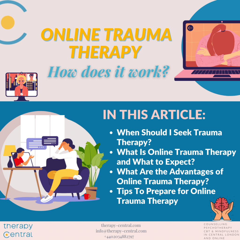 Online Trauma Therapy: How Does It Work?