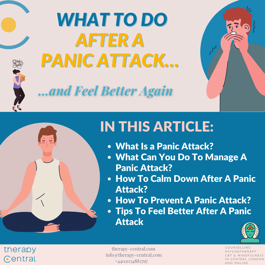 What To Do After a Panic Attack… and Feel Better Again